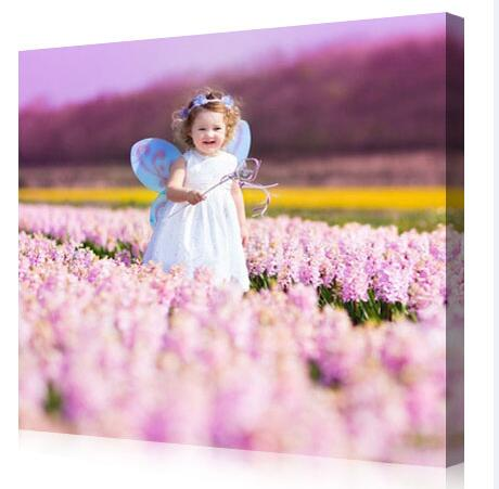 Showcase memorable family photos or give an artistic treatment to text and graphics associated with your company logo with gallery-style canvas prints.